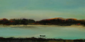 Quiet Crossing  56cm x 28cm